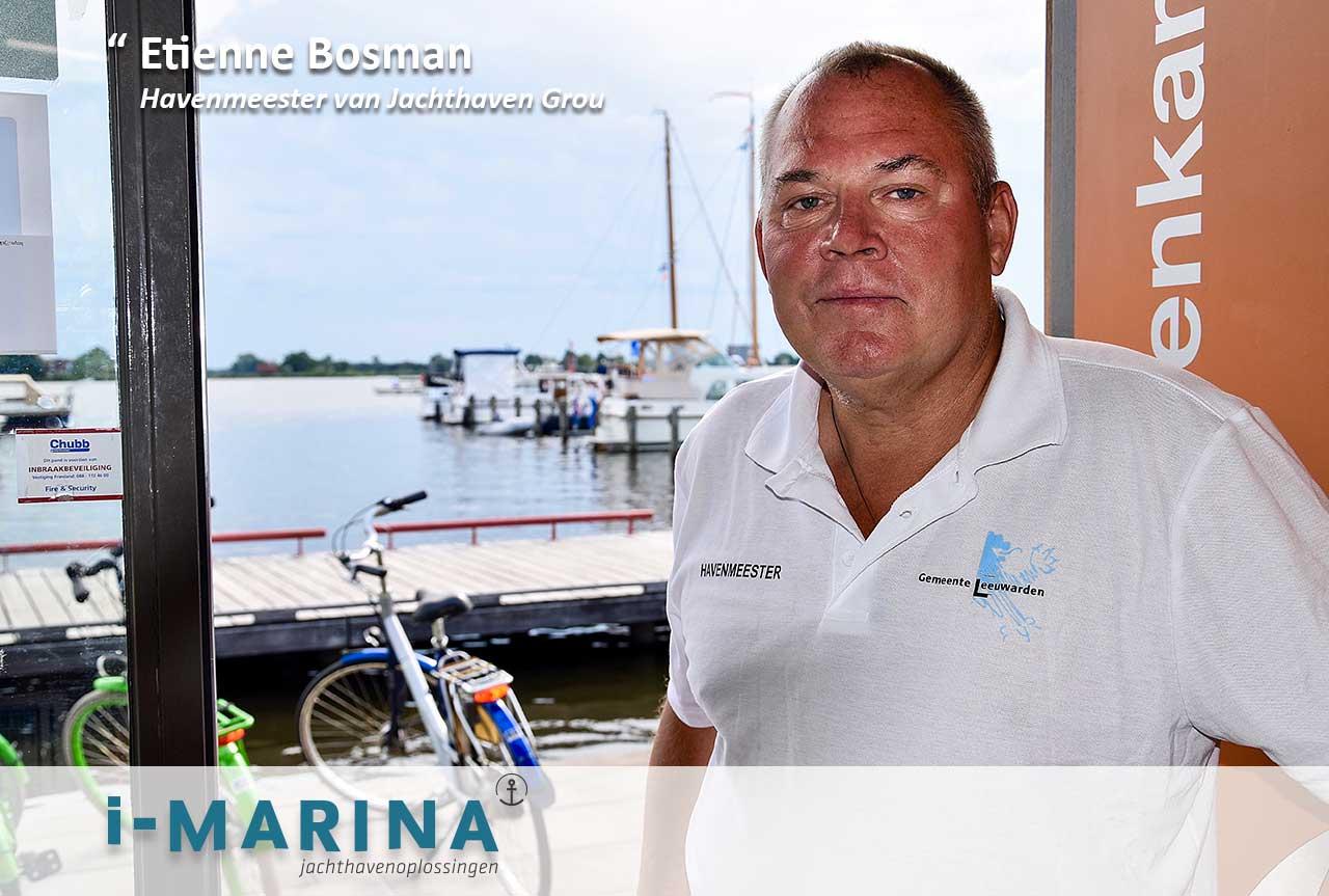 Etienne van Jachthaven Grou: 'i-Marina verdient de mond-tot-mondreclame'