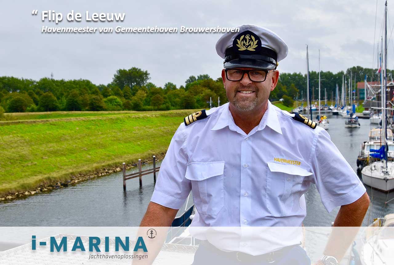 Flip de Leeuw van Jachthaven Brouwershaven: 'i-Marina wordt naar eigen wens ingericht'