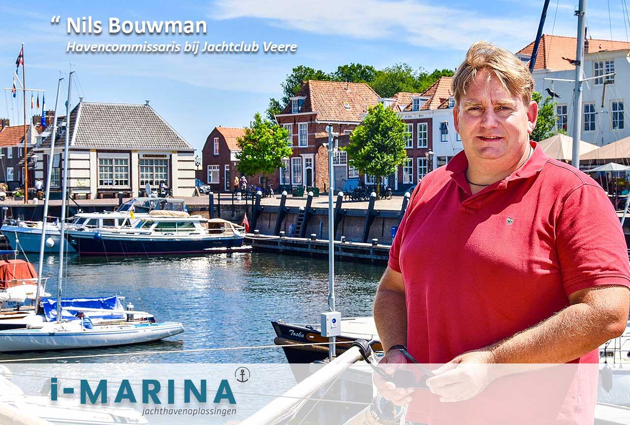 Nils van Jachtclub Veere: 'i-Marina zorgt ervoor dat wij de steigers op kunnen'
