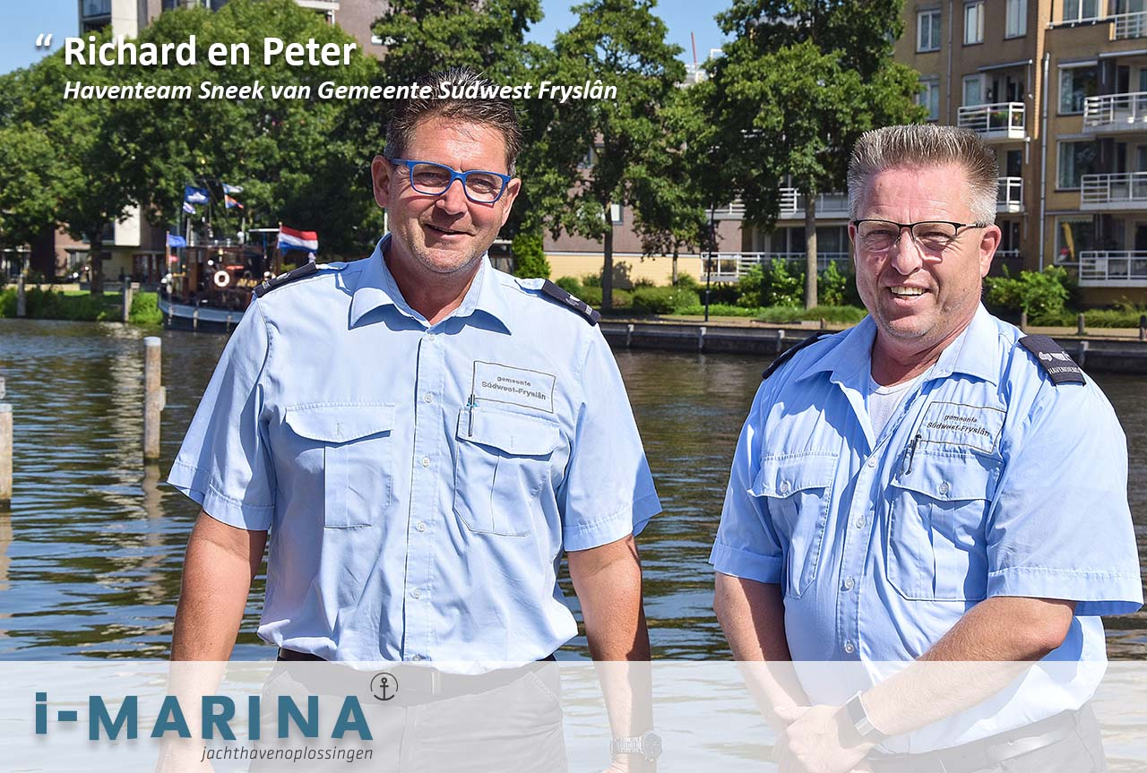 Haventeam Sneek: 'Bootgasten gaan i-Marina herkennen'
