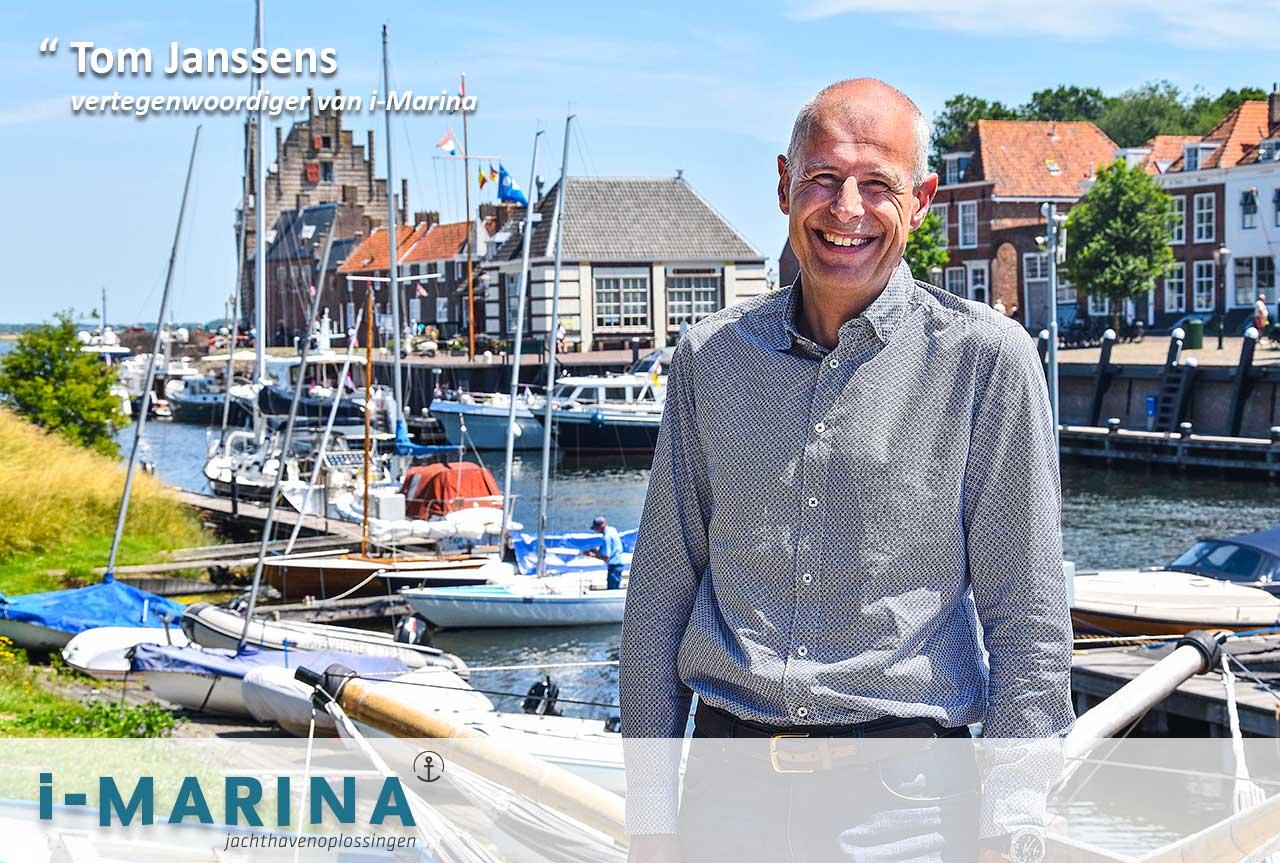 Kennis maken met Tom Janssens - vertegenwoordiger van i‐Marina