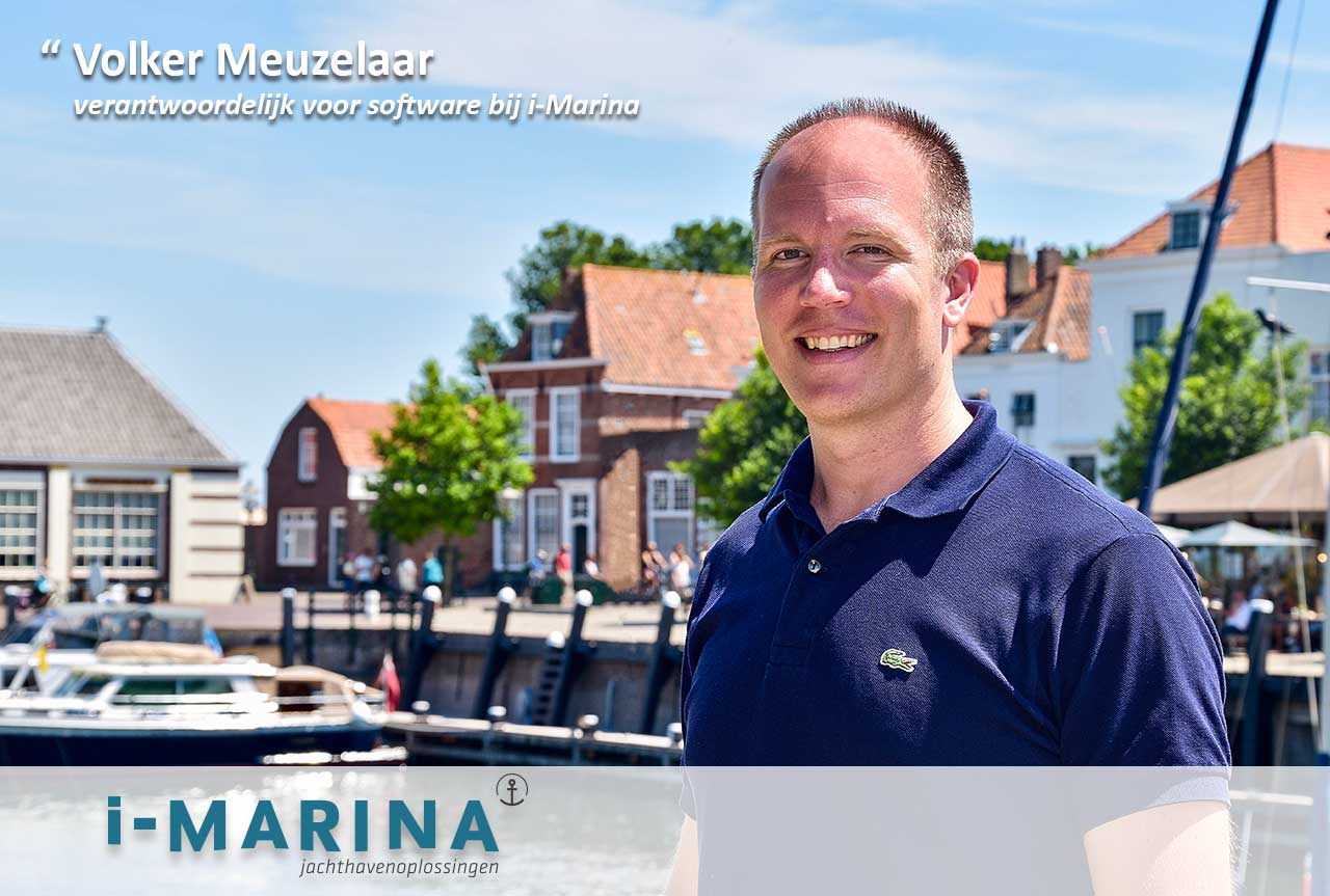 Kennis maken met Volker Meuzelaar - verantwoordelijk voor software bij i-Marina